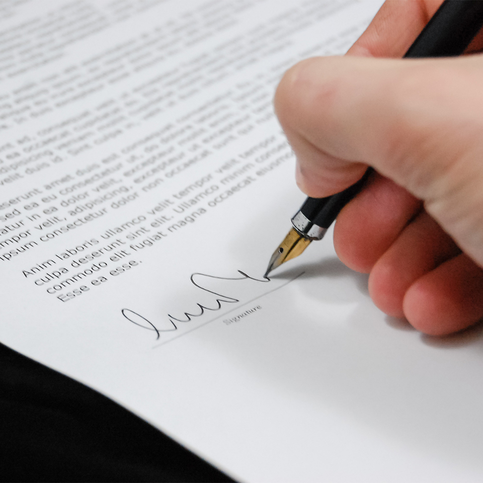 document signing small